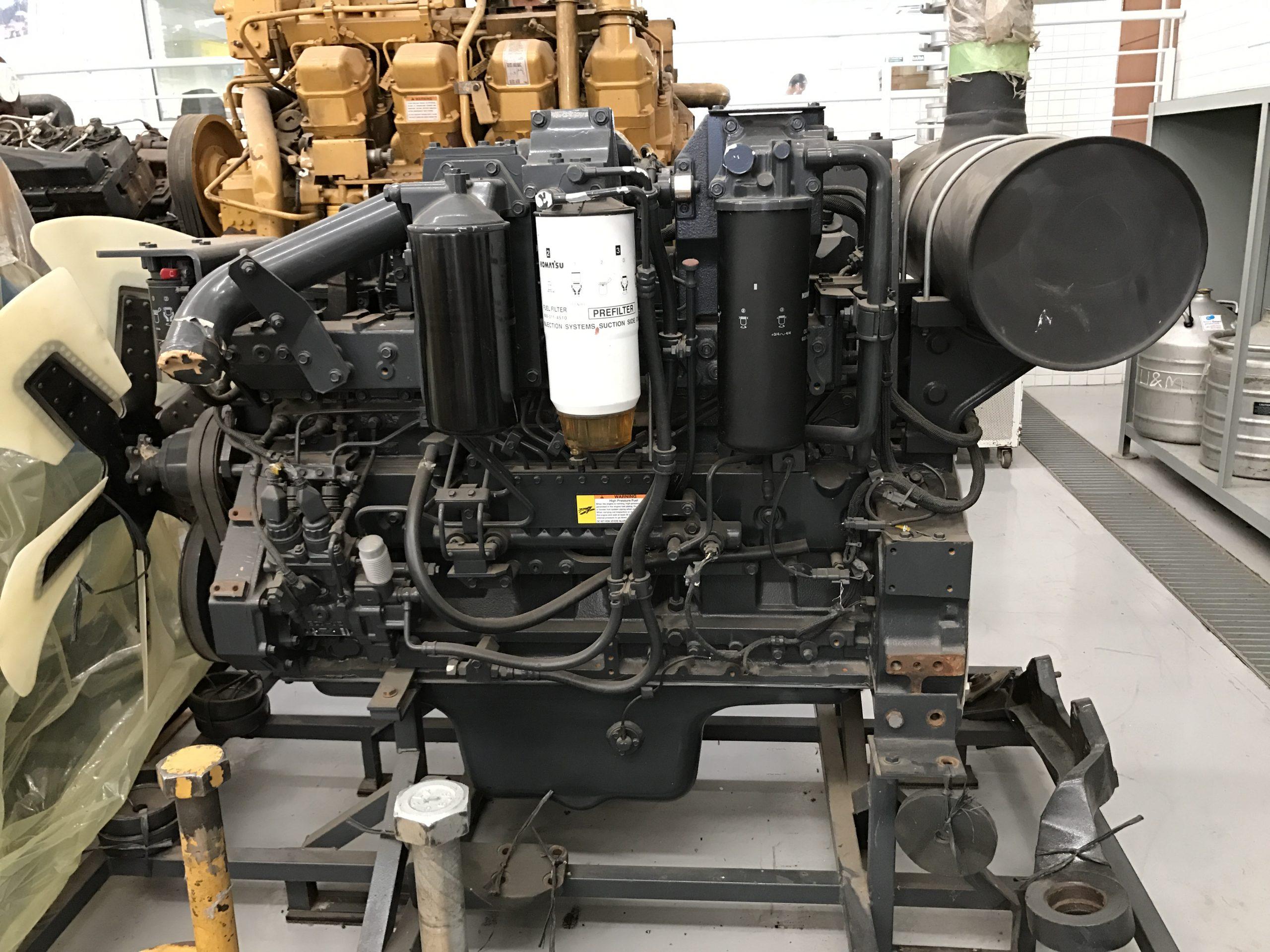 DIESEL ENGINE PC400 NEW